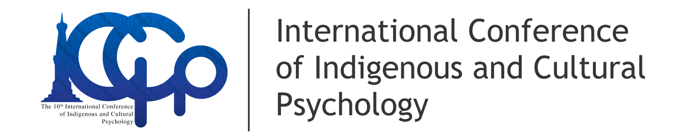 The 10 th International Conference on Indigenous and Cultural Psychology